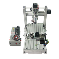 CNC Router DIY 4020 Metal 3 5 Axis CNC Milling Machine Wood Drilling Kit