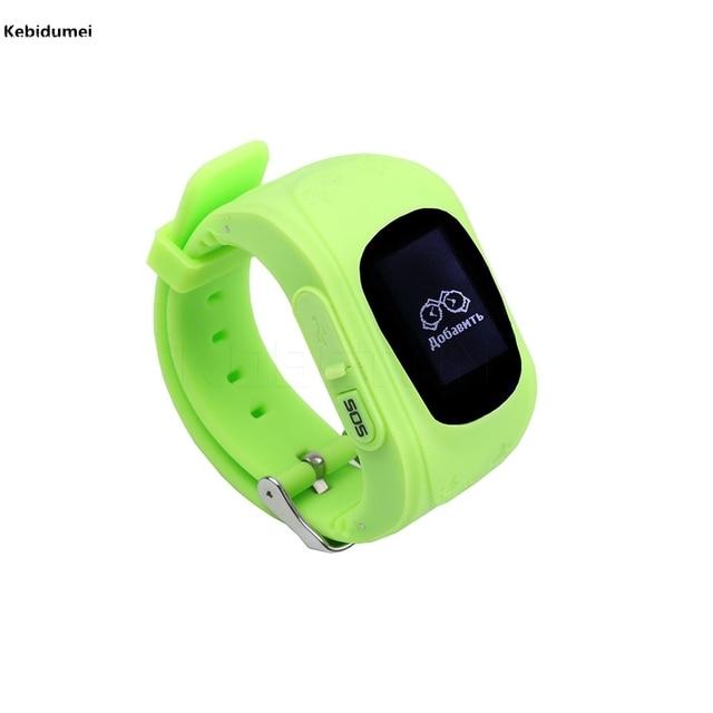 Kebidumei России Verison Q50 умный ребенок безопасный GPS часы наручные часы SOS вызова Расположение Finder Locator Tracker для малыша детский подарок