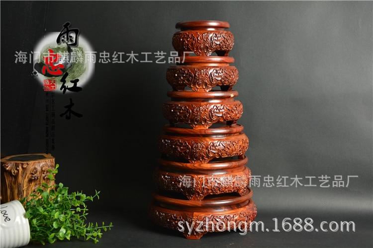 Yu zhong nova mogno pedestal mogno vermelho