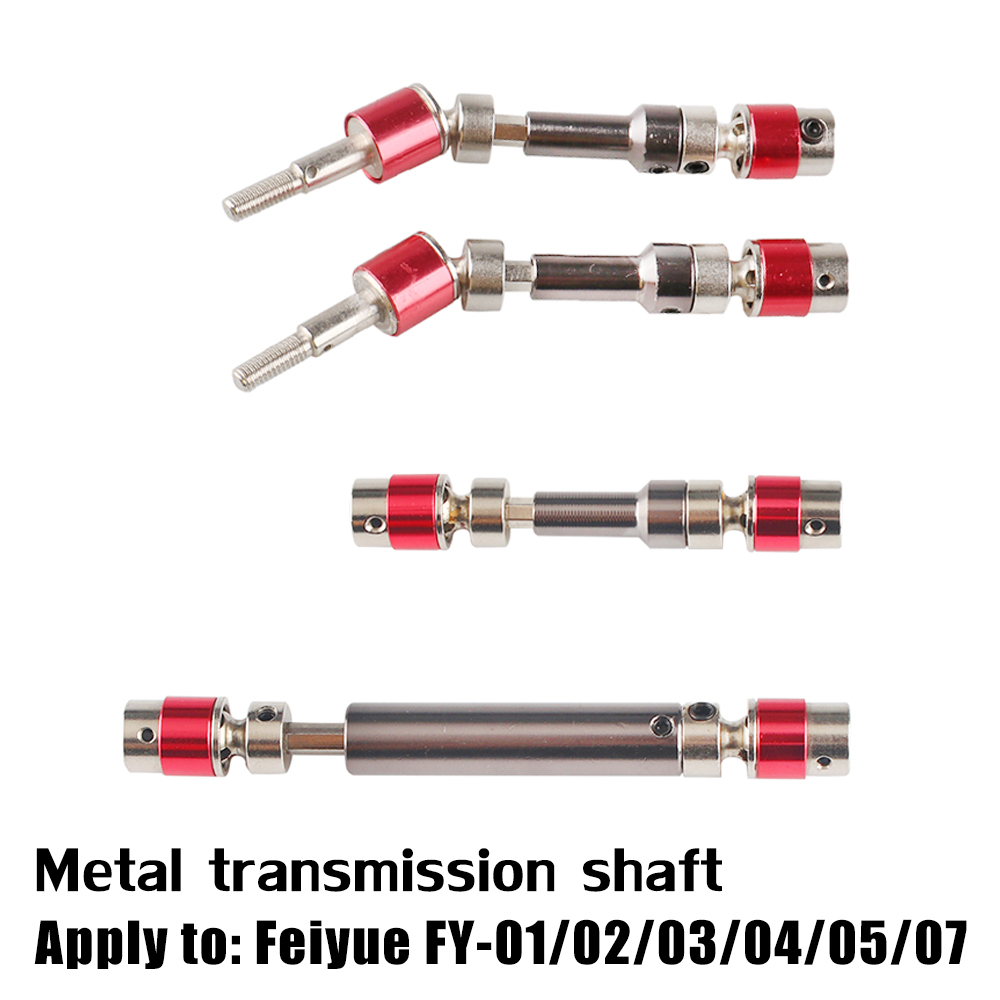 Feiyue FY-01/02/03/04/05/06 Metal transmission shaft RC car parts Updated version drive shaft universal joint transmission axis feiyue fy01 fy02 fy03 clutch fylh01