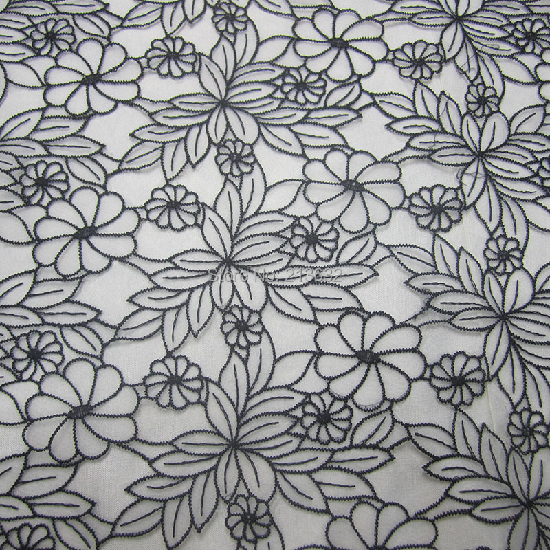 POp51 31 textile apparel textile cloth embroidered mesh fabric wholesale computer embroidery lace fabric sewing designer yarn