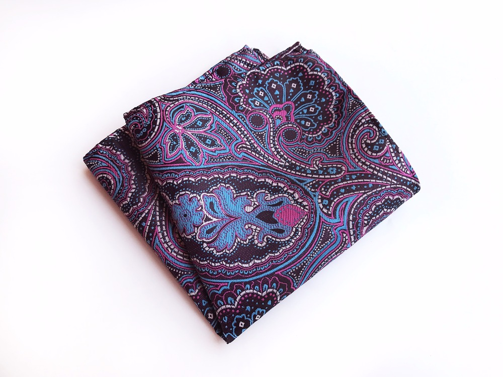 25x25 Big Size Men Fashion Handkerchief For Men Gift