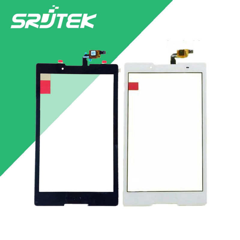 все цены на New 8'' inch For Lenovo Tab2 Tab 2 A8-50F A8-50 F/LC Touch Screen Panel Digitizer Black and White color free shipping онлайн