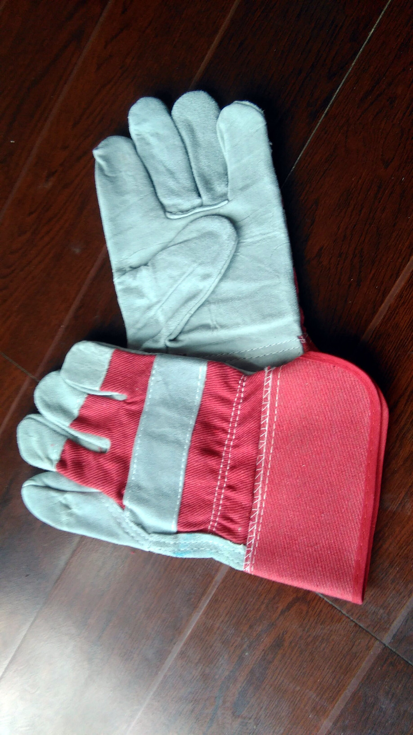 Leather palm work gloves wholesale - The New Welding Work Gloves Really Whole Palm Cowh