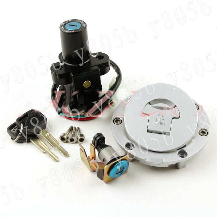 Ignition Switch Gas Cap Seat Lock Keys Kit for Honda NT700V NT650 Deauville Hawk