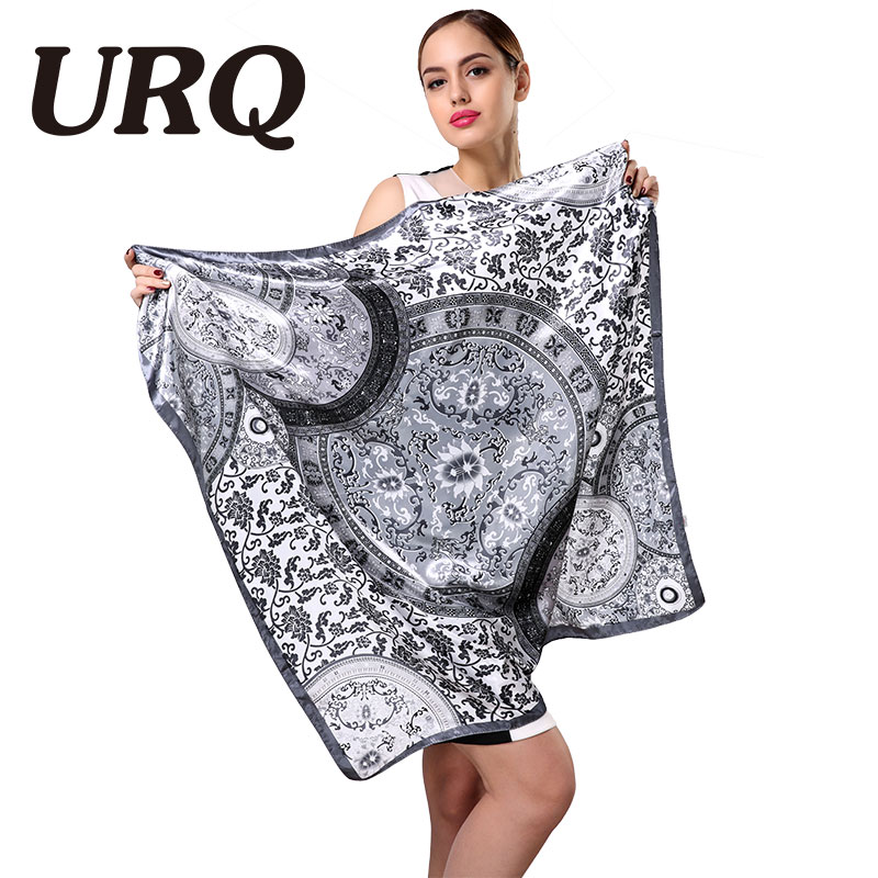 brand designer star winter silk scarf sq