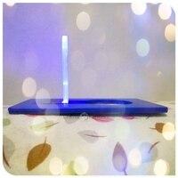 Lámpara de la tarjeta bolsillo carpeta-Luz Azul cuerpo azul, luz interior que carpeta