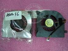Новый процессор вентилятор для ASUS F6 F6A F6V F6S F6E F6Z V2S вентилятор, абсолютно новый подлинный F6 F6A F6V F6S вентилятор для процессора ноутбука кулер хорошего качества