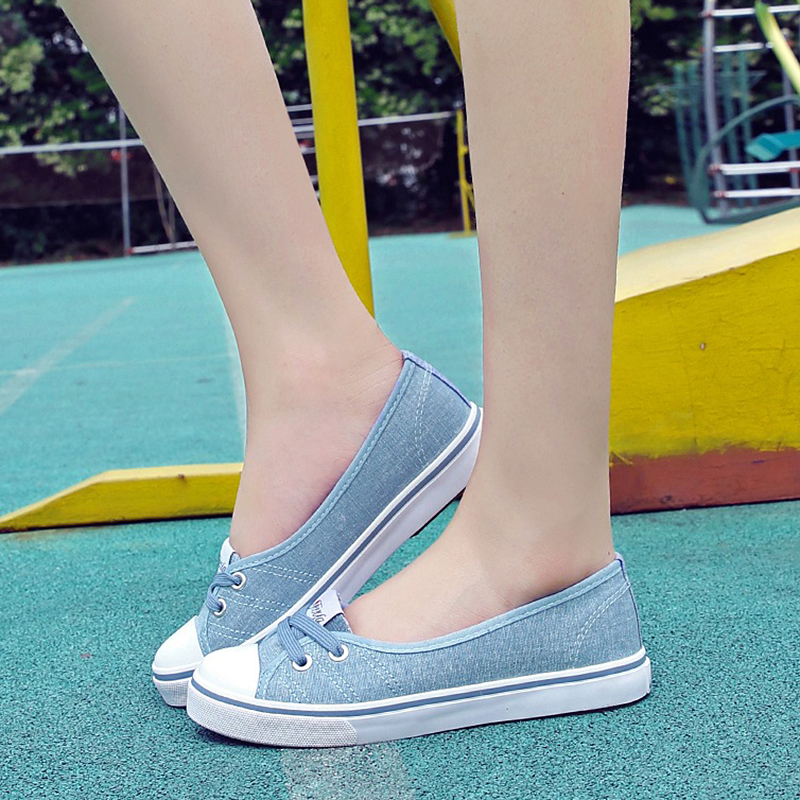 Women Flats Shoes Ballet Loafers Breatha