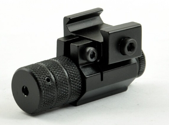 Micro Mini Pistol Red Dot Laser Point Sight Scope with 20mm weaver mount for hunting