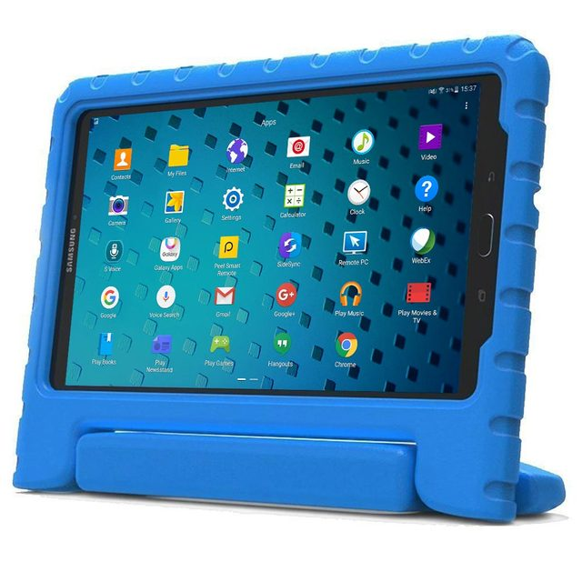 huge discount 091d1 2806d US $22.95  Kids Case for Samsung Galaxy Tab E 7.0 / Lite , Cooper Dynamo  Rugged Heavy Duty Children's Boys Girls Case Cove + Large Handle-in Tablets  & ...