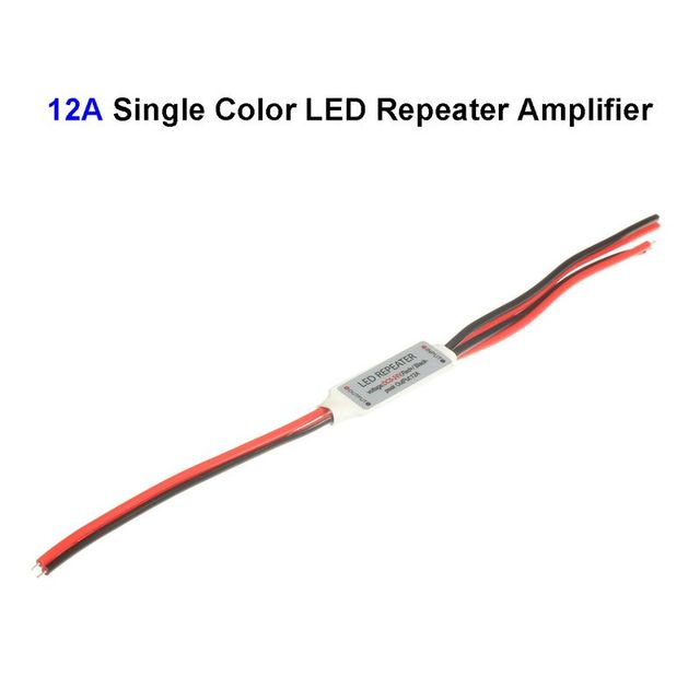 3pcs 12v 12a single color led signal repeater amplifier