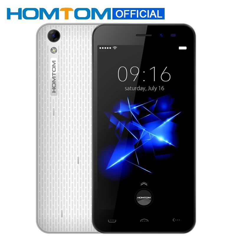 Цена за Homtom ht16 pro 5.0 дюймов hd screenmtk6737 quad core smartphone 3000 мАч сотовый Телефон Android 6.0 2 ГБ RAM 16 ГБ ROM 4 Г Мобильный Телефон