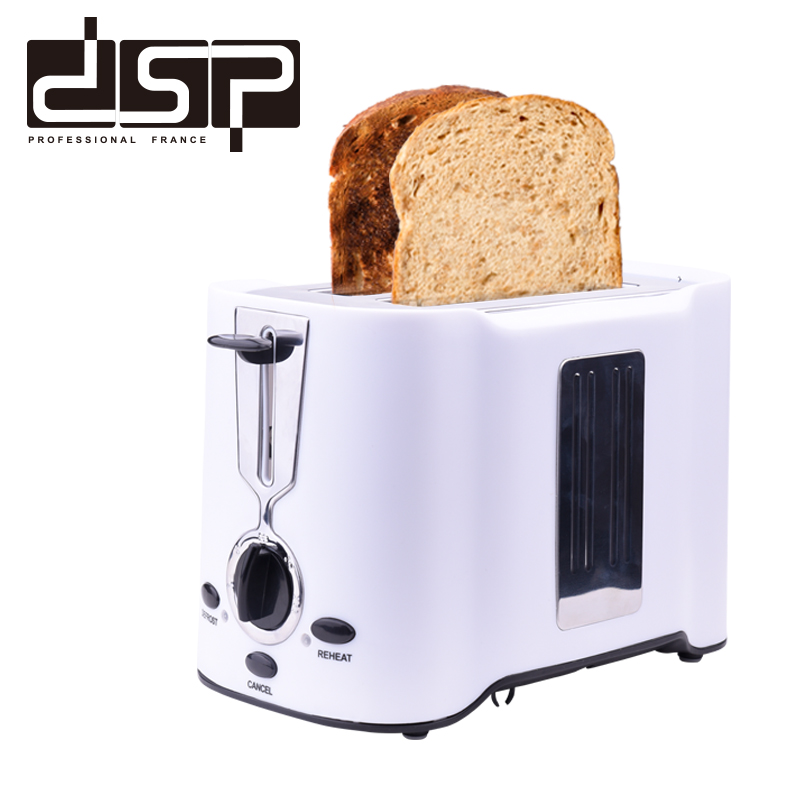 DSP KC2038 Toaster 750W Bread Maker 2 Slices Warm Stainless Steel LinerHousehold Bread Baking Machine  For Breakfast