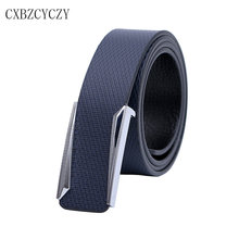 2017 New Fashion brand designer men belt luxury High quality belts for men Jeans pants leather male strap Business buckle Belts