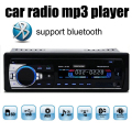 Novo 12 V bluetooth In-Dash 1 DIN Car rádios sintonizador Estéreo bluetooth Rádio FM eletrônico de Áudio MP3 Player USB SD MMC porta