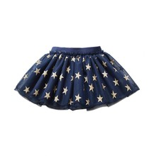 2017 Summer Baby Kids Girls Floral Bowknot Princess Skirt Beach Party Tutu Skirt 1-6Y