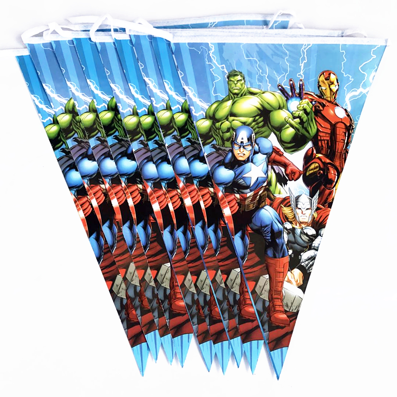 Incredible Hulk Avengers Banner Birthday Party Decorations