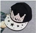 Free shipping king letter hiphop cap hip-hop baseball cap women's male fashion baseball cap snapback