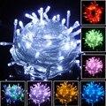 16 ft Jardín Cortina de luz LED de cadena 5 m de Navidad Garland Iluminación Durante las Fiestas de Año Nuevo Luminaria Decoración de Hadas de La Boda Al Aire Libre