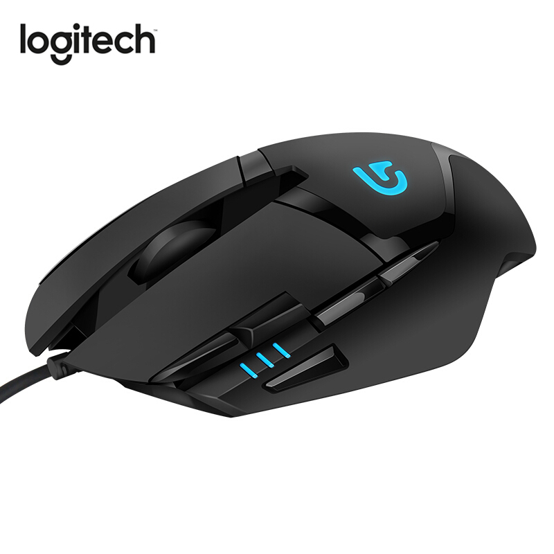 Logitech G402 Hyperion Fury Gaming Mouse Wired Mouse With Optical 4000DPI High Speed For Mouse Gamer