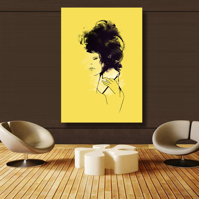 QKART Canvas Prints Chinese writing brush Oil Paintings Style ...