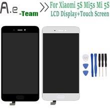 """De alta calidad para xiaomi 5s mi5s mi 5S lcd display + touch screen reemplazo digitalizador para xiaomi5s mi5s mi 5S 5.15 """"teléfono + herramientas"""