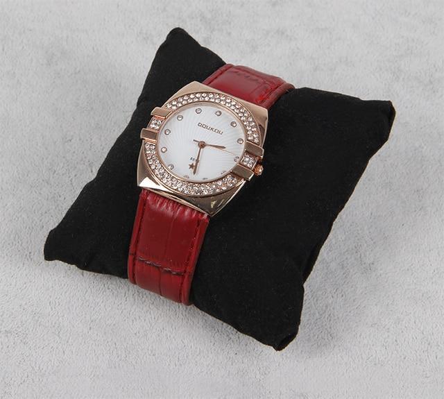 Wholesale 10 Velvet Black Bangle Bracelet Watch Pillow Display Stand Jewelry Holder Rack