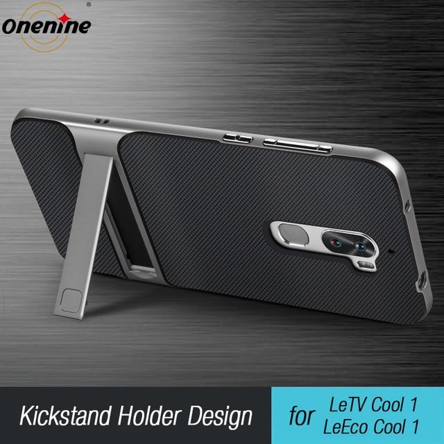 """3D étui de téléphone Mobile à béquille LeTV LeEco Cool 1 double Coolpad Cool1 housse de protection 5.5 """"hybride TPU + PC protection LeRee Le 3 Le3 sac"""