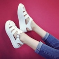 Summer Female Sandals New Platform 2017 Women shoes Breathable Hollow out shoes  Flat shoes Casual  students tide Zapatos Mujer