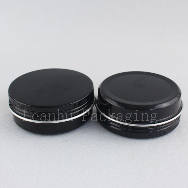 50g 100g black aluminum jar (3)