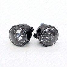 2pcs Car Styling Right+Left Fog Light Lamp w/ H11 Halogen 12V 55W Bulb Assembly For NISSAN TIIDA Hatchback 2004-2005 2006 2007