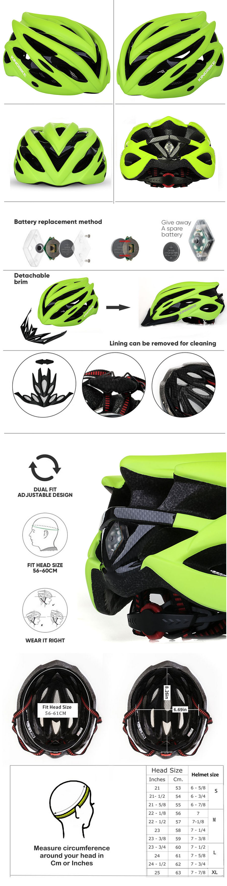 Cycling helmet 22