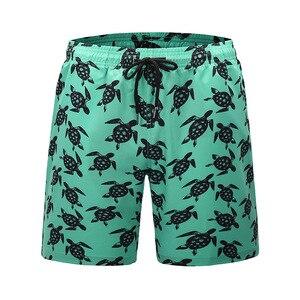 Брендовые быстросохнущие плавательные шорты с карманами для мужчин, купальный костюм для мужчин, плавки для купания, летняя пляжная одежда ...