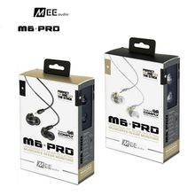 DHL free MEE Audio M6 PRO Displays Bass HIfi Earphone Noise-Isolating DJ Displays Earphone with Removable Cables VS SE535 Okay3003