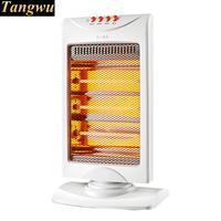 sun heater sets the electric heating fan in office