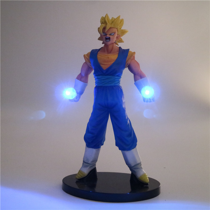 Anime Led Lamp | Dragon Ball Z Vegeta Night Lamp Son Goku Anime LED Lights Super Saiyan PVC Action Figure Collectible DIY Model Toys DBZ Decor