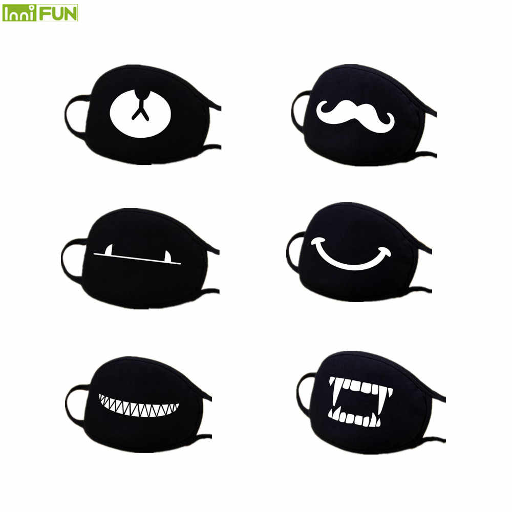 Baru 12 Gaya Keren Wajah Mulut Masker Unisex Mouth-Muffle Anti Debu Udara Dingin Wajah Topeng Bersepeda penahan Angin