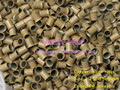 3.2*2.8*4.0mm 8#Wheat 1000pcs copper flared ring easily locks/copper tube micro link/ring /bead for i tip hair extension