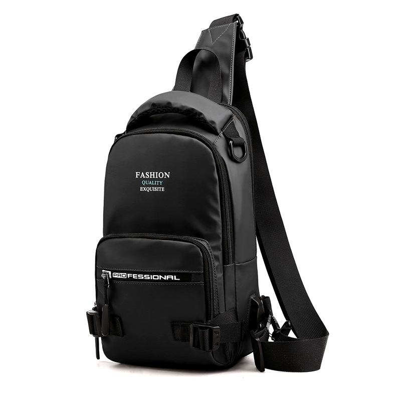 Image 2 - Нейлоновая военная сумка через плечо, мужская сумка на ремне, зарядка через USB интерфейс, повседневный модный мужской рюкзак на одно плечо-in Рюкзаки from Багаж и сумки