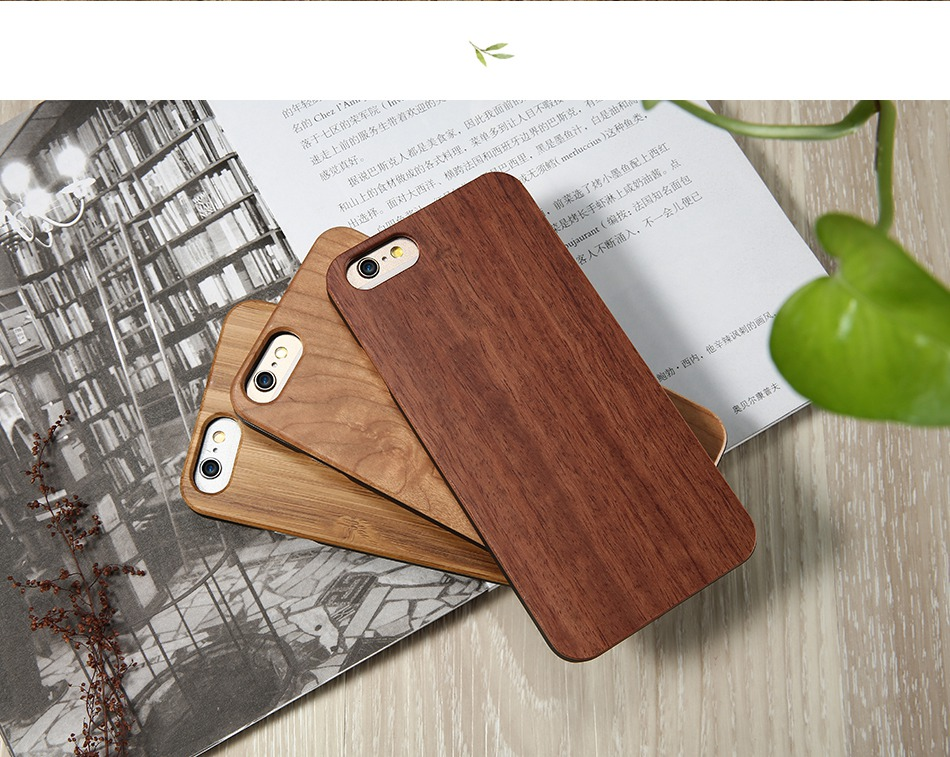 For iPhone 7 iPhone 7 Plus Case Natural Bamboo Wooden Phone Cases For iPhone 6 6S Plus 6 Plus (16)