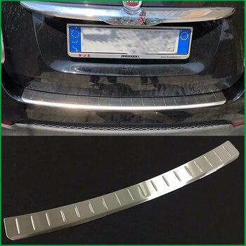 Para Fiat 500X2015 2016 2017 de acero inoxidable Protector de parachoques trasero Sill Trunk parte trasera de la cubierta de la placa de la cubierta del coche estilo de piezas de automóviles