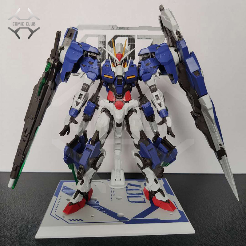 COMIC CLUB instock MJH mojianghun MG 1 100 Gundam 00 Seven Sword assembly robot action toy