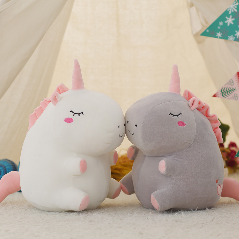 Image 5 - 25cm Cute unicorn plush doll toy Stuffed &Plush Animal Baby Toys baby accompany sleep Toys For Children Students Birthday Gifts-in Stuffed & Plush Animals from Toys & Hobbies