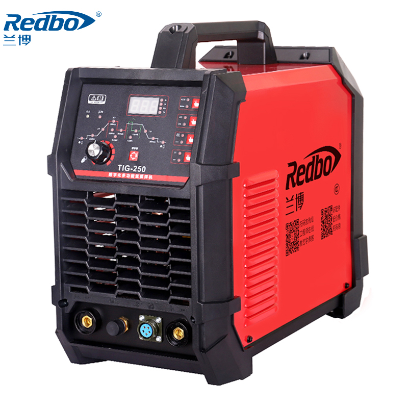 Redbo <font><b>TIG</b></font>-<font><b>250</b></font> Digital Model 220V Argon arc welding High efficiency Long time wleding image