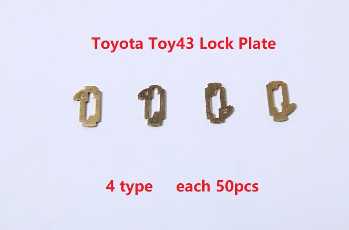 200pcs TOY43 Car Lock Reed Locking Reed For Toyota Camry Corolla NO.1.2.3.4 Lock Car Locks Tablets Lock Spring, Locking Reed