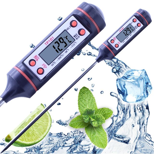Digital Thermometer Thermomrtro Range -50-300 Degree Celsius Mulit-purpose For Kitchen Food Water Temperature Controller