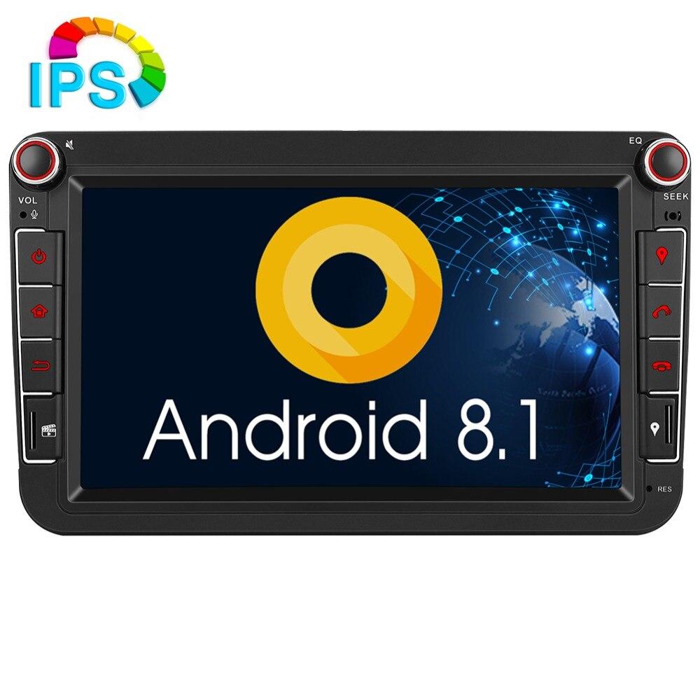 Pumpkin Android 8 1 Car Multimedia Player2 din 8 IPS Car Radio GPS Audio Stereo No