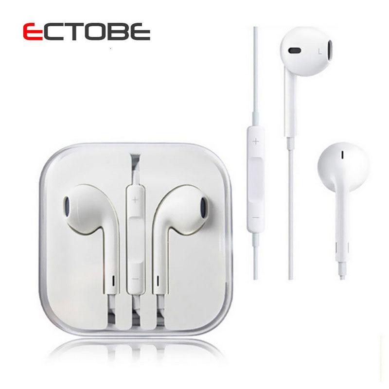 Original and Brand New 3 5mm headphone Earpod Earphone For iPhone 5s 5 5C 6 6s