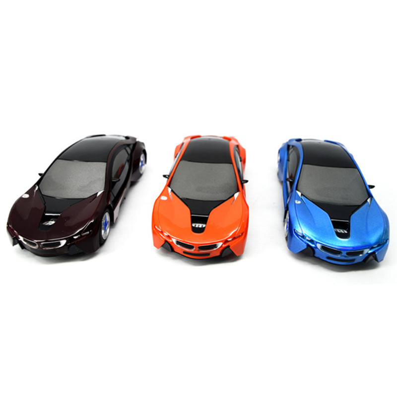 QICSYXJ Birthday Gift Supply I8 Concept Car 1:24 RC Car Auto Model 20cm 4channels Lighting Toy Car for Childrens